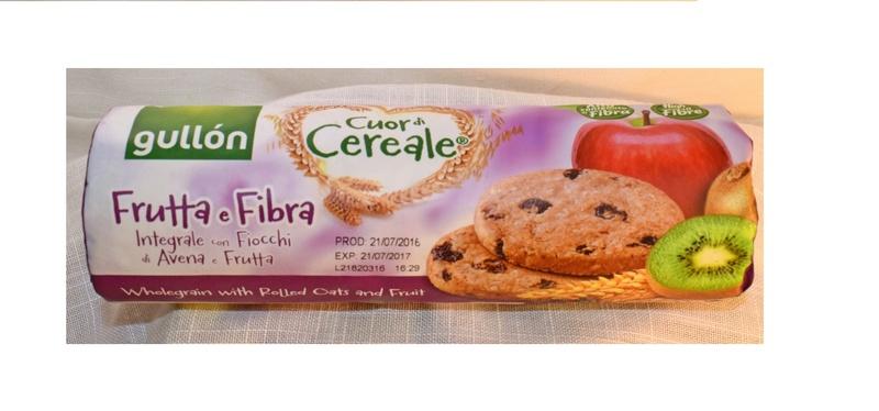 пълнозърнести бисквити с плодове