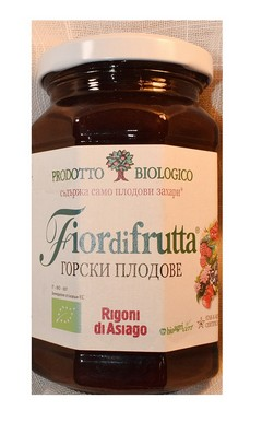 Конфитюр от горски плодове (без добавена захар) - 250гр