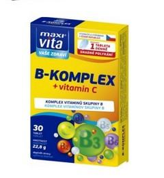 В комплекс + Витамин С - 30 таблетки