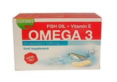 ОМЕГА 3 /рибено масло/ + ВИТАМИН Е - 30 капсули