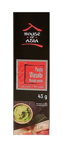 УАСАБИ паста за суши /House of Asia/ - 43гр